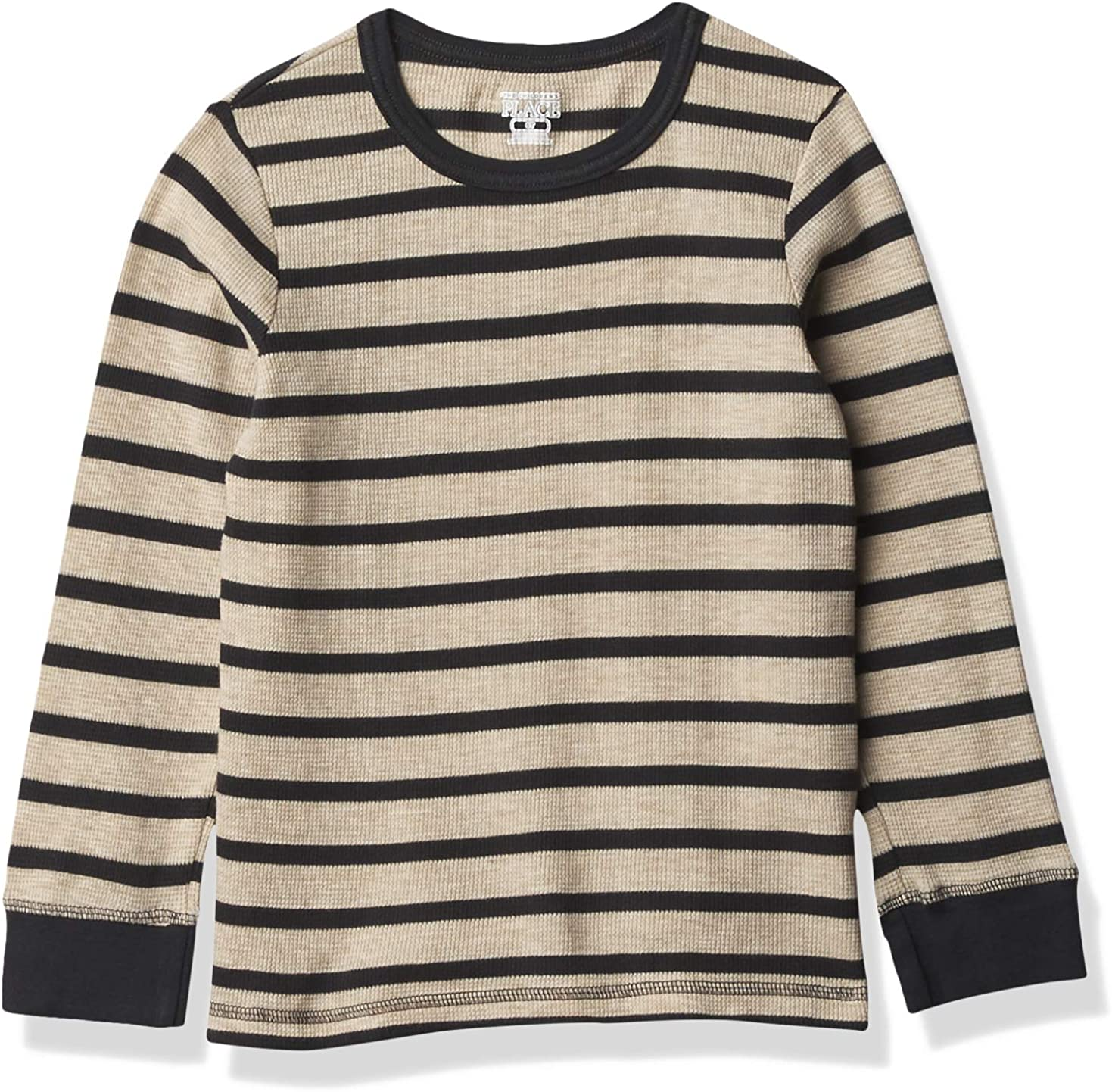 The Children's Place Boys' Toddler Striped Thermal Top