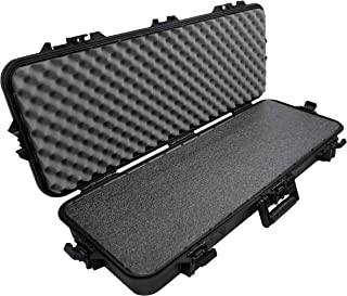 Case Club Hard Waterproof Rifle Case with Closed Cell Military Grade Polyethylene Foam
