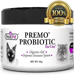 PROBIOTIC for Cats – Premo Pet – Digestive Aid Plus Prebiotic – Best for Diarrhea,..