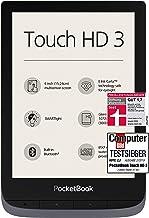 PocketBook Lector de eBook 'Touch HD 3' (16GB Memoria; 15,24Cm (6Pulgadas) Pantalla de E Ink Carta; SmartLIGHT; Wi-Fi; Bluetooth) en Plata Gris