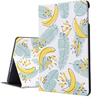 iPad Air Case, iPad Air 2 Case, iPad 9.7 Inch Protective Cover for Apple 5th/6th Generation, Free-Angle Viewing Case with Adjustable Stand Auto Wake/Sleep Function (Cute Bananas)
