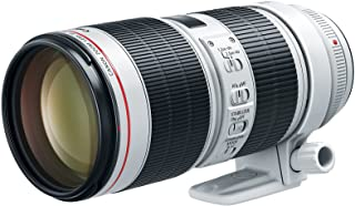 Canon EF 70-200mm f/2.8L IS III USM Lens for Canon Digital SLR Cameras, White - 3044C002
