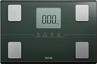 タニタ 体重 体組成計 50g グリーン BC-315 GR 自動認識機能付き/立掛け収納OK
