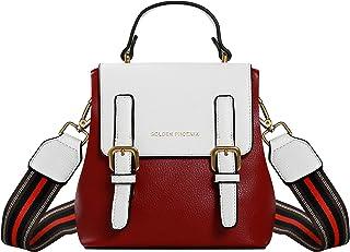 Lcfun Cute Mini Leather Backpack