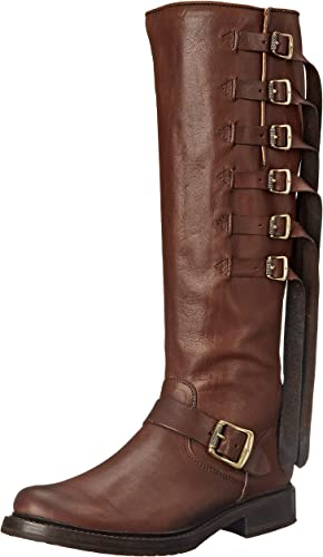 FRYE damen& 039;s Veronica Strap Tall-TUFG Engineer Stiefel