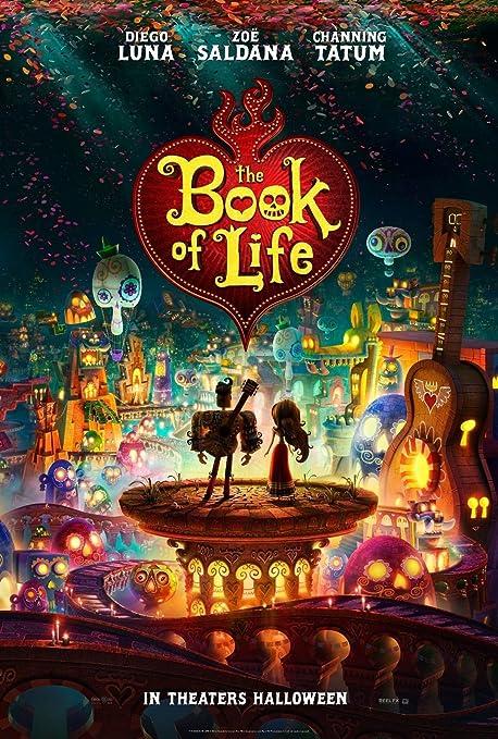 Amazon.com: The Book of Life (2016) Movie Poster (24x36) - Diego Luna Zoe  Saldana Tatum: Posters & Prints