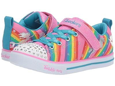 SKECHERS KIDS Sparkle Lite Magical Rainbows 20275L (Little Kid/Big Kid) (Multi) Girl