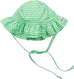 Flap Happy Baby Girls' UPF 50+ Double Ruffle Hat