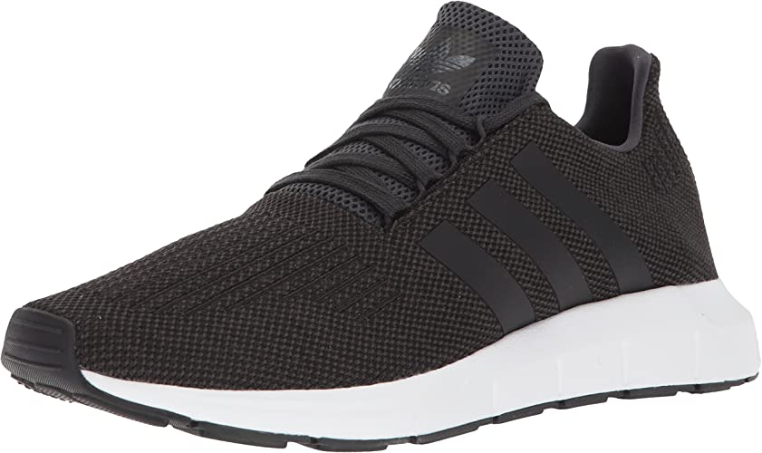 Adidas Men's SWIFT RUN chaussures,carbon core noir medium gris heather,10 Medium US