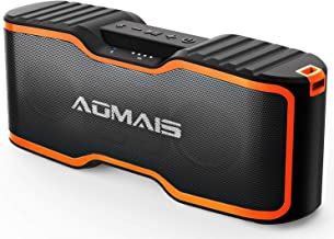 AOMAIS Sport II+ Bluetooth Speakers, Portable Outdoor Wireless Speaker, 30H Playtime, 20W HD Stereo Sound & Richer Bass, IPX7 Waterproof, 100ft Bluetooth for Travel, Party, Beach?2019 Upgrade Version?