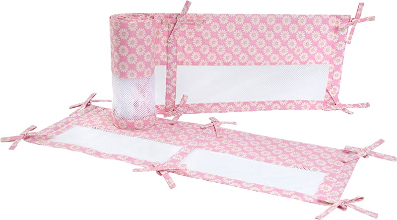 Carter S Jungle Collection Secure Me Crib Liner Pink