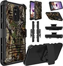 LG Stylo 4 Case, LG Q Stylus, LG Stylo 4 Plus, LG Stylus 4 Case, Elegant Choise Hybrid Holster Heavy Duty Shockproof Full Body Protective Case with Kickstand and Swivel Belt Clip for LG Stylo 4 -Camo