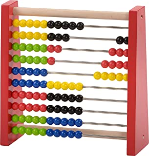 HABA Abacus Classic Wooden Toy (Developmental Toy, Brightly-Colored Wooden Beads) | Mathematics