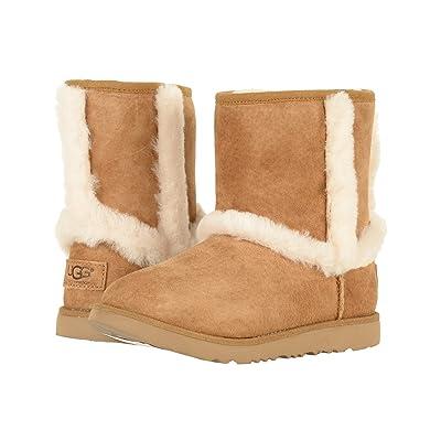 UGG Kids Hadley II Waterproof (Toddler/Little Kid/Big Kid) (Chestnut) Girls Shoes