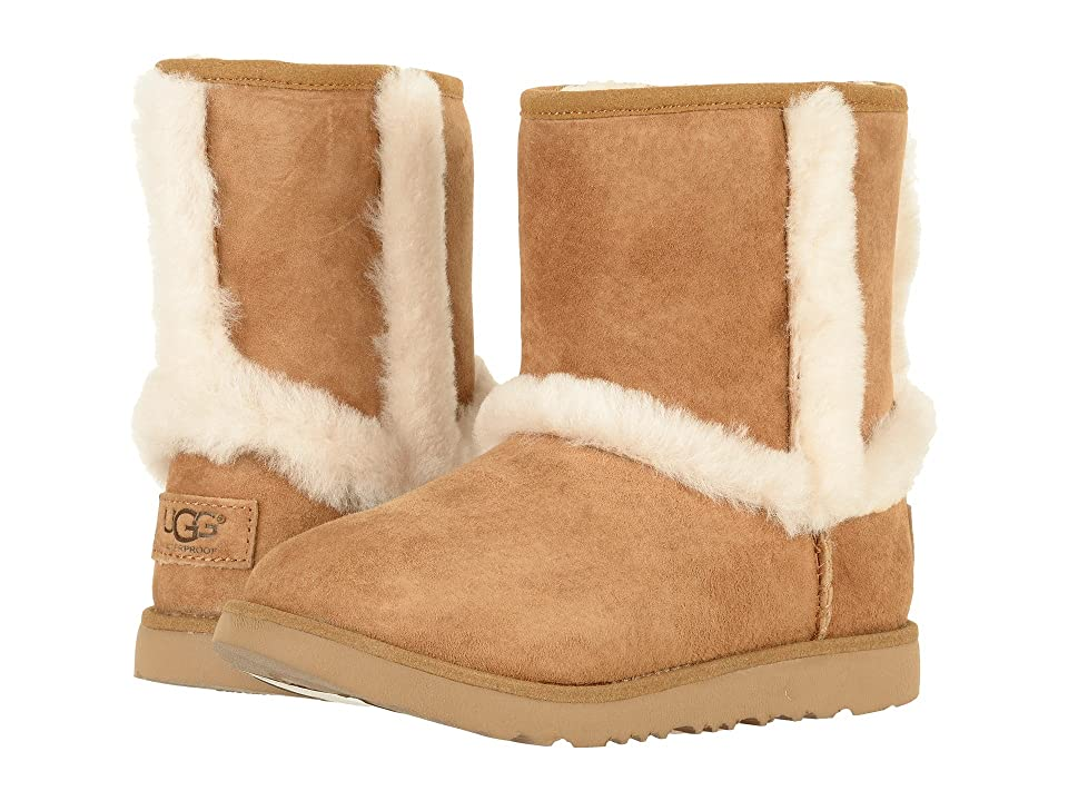 UGG Kids Hadley II Waterproof (Toddler/Little Kid/Big Kid) (Chestnut) Girls Shoes