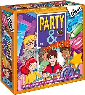 Diset- Juego Party & co Junior - Juego de mesa infantil a partir de 8 años