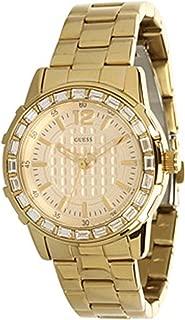 Guess Women's U0018L2 Dazzling Sport Petite Gold-Tone Stainless Steel Watch
