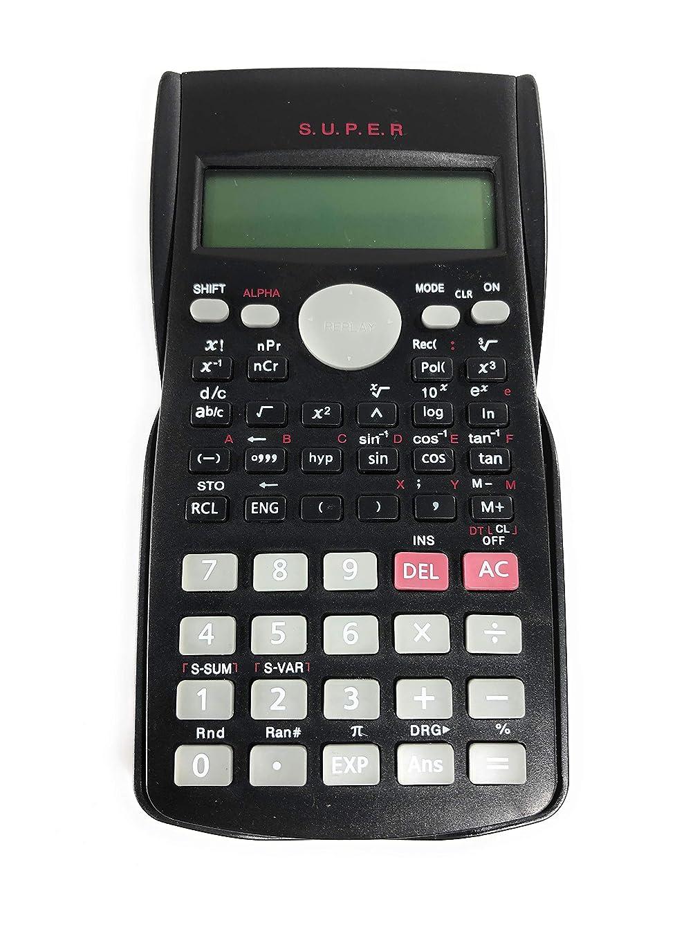 元のスラダム純粋な関数電卓 2列 多機能 12桁 消費 240機能 高校大学エンジニアリング会計部門 トリゴネタリーオフィス