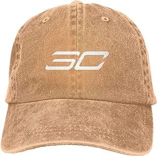 Songshu Virginia School Team Cartoon 2 Cowboy Baseball Hat Dad Sombrero de béisbol Natural