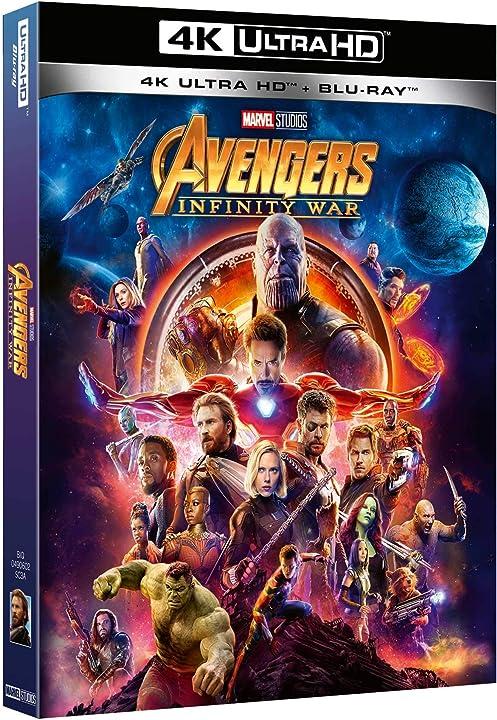 Avengers infinity war 4k (2 blu ray) B07CVM5KX8