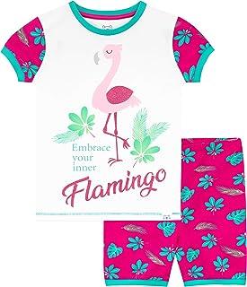 Harry Bear Pijama Corta para niñas Flamingo