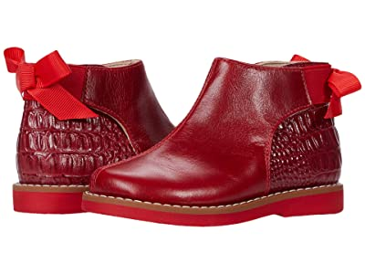 Elephantito Anabelle Bootie (Toddler/Little Kid/Big Kid) (Red 1) Girls Shoes