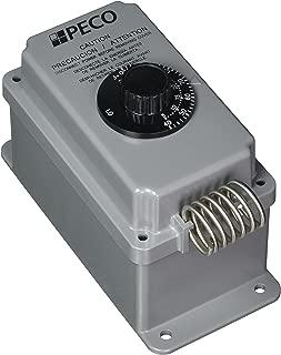 Peco TH109-009 Multi Use Line Voltage Thermostat, Gray