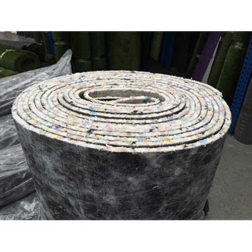 30m² of Luxury 10mm Thick PU Carpet Underlay Rolls | 2 Rolls at 11m Long x