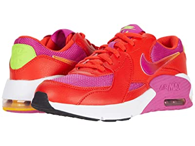 Nike Kids Air Max Excee SE (Big Kid) (Chile Red/Multicolor/Active Fuchsia) Kid