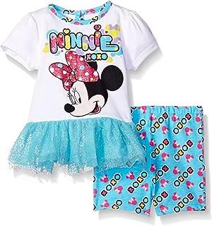 Disney - Juego de 2 Piezas de Playera y Pantalones Cortos para niña