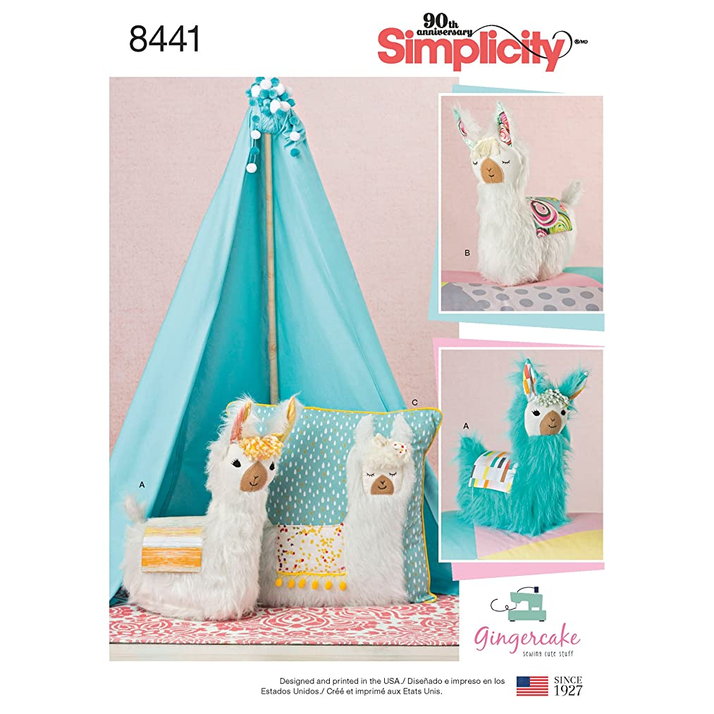 Simplicity Patterns US8441OS Sewing Pattern Crafts, One Size