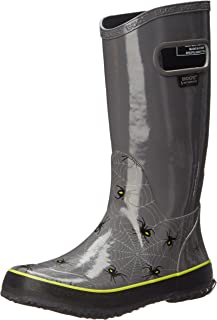 3e3b08dfcf Bogs Kids Rubber Waterproof Rain Boot Boys Girls, Kaleidoscope Print/Black /Multi,