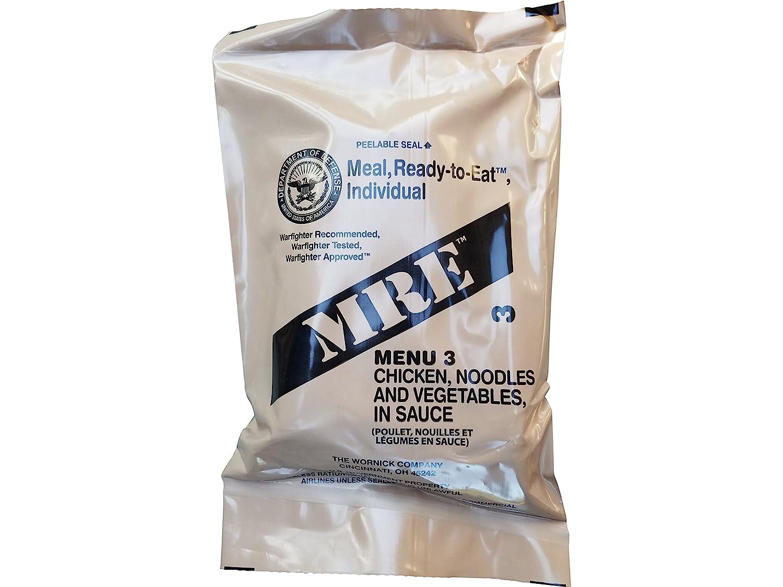 US Meal-ready-to-eat,MRE,Einsatzverpflegung,Notration,Menu:15:Mexican Chicken