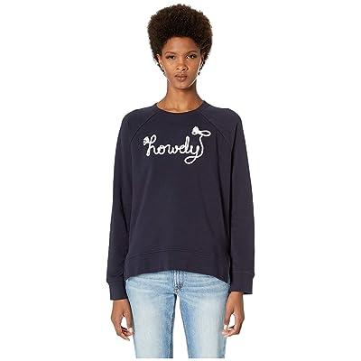 Kate Spade New York Broome Street Howdy Sweatshirt (Indigo) Women