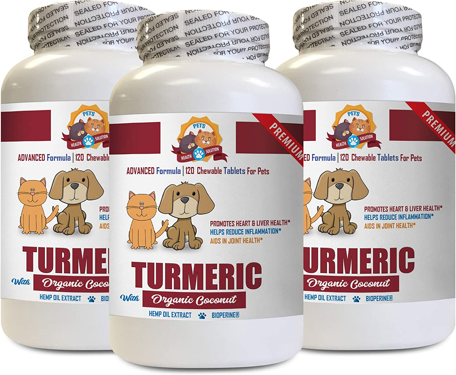 Dog Anxiety Relief - Pets Turmeric Popular popular Coconut with Organic Minneapolis Mall Oil Do
