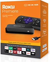 Roku Premiere | HD/4K/HDR Streaming Media Player, Simple...