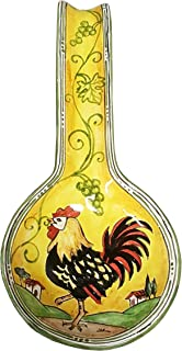 italian rooster pottery