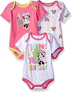 Disney Baby Minnie Mouse - Conjunto de 3 Body para niña