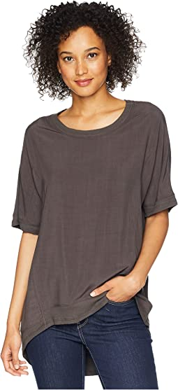Pure Cotton Short Sleeve Loose Crew