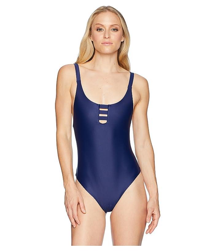Speedo Shelly One-Piece Swimsuit (Speedo Navy) Women