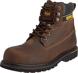 Holton Mens Boots Brown