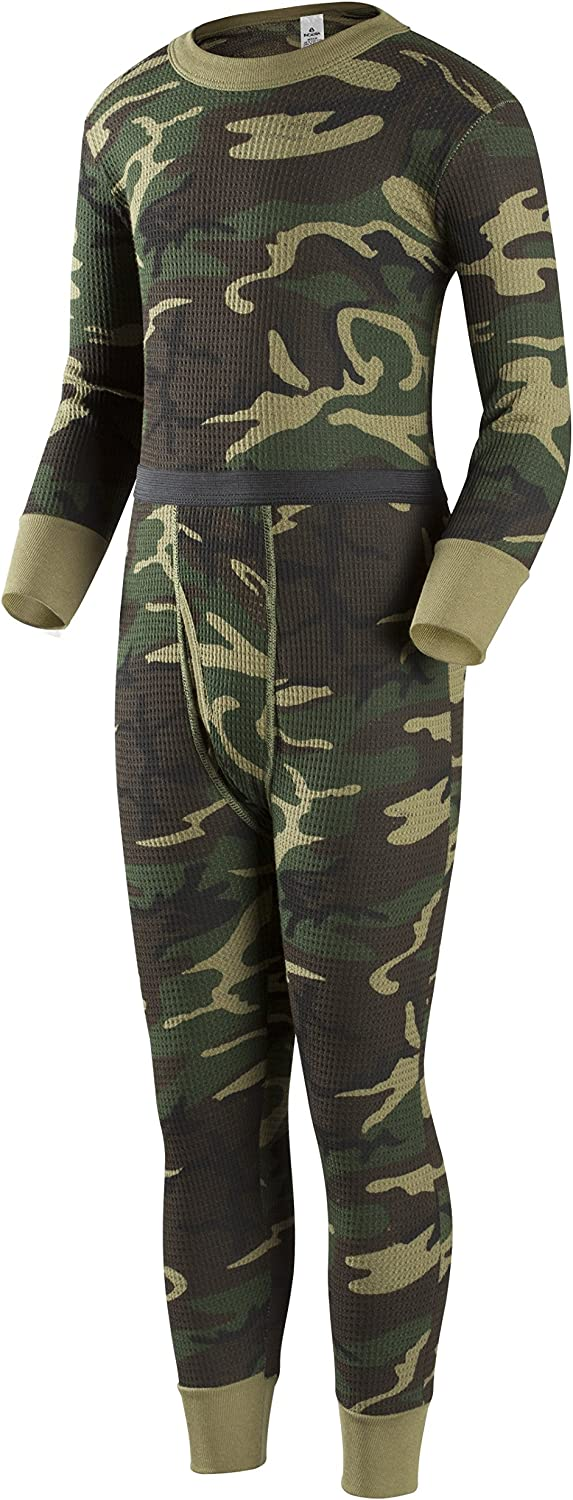 Indera Boys Traditional Thermal Underwear Shirt and Pant Set
