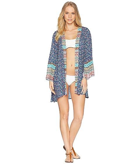 de Kimono Segal Cover Shelli Multi Lavandería Patchwork Up dpwCxEdqI