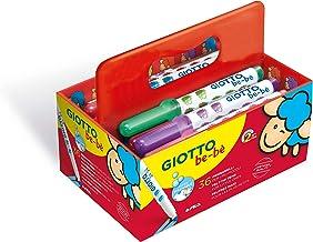 Giotto 4602 00 Be-Be Superfarbstifte mit Spitzer Etui 12 sortierte Farben