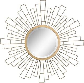 Stonebriar Round Decorative Antique Gold 23