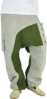 Men's Harem Jeans Drop Crotch Pants for Men (Size M –XL) – Kopfkino