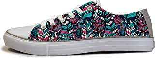 Rivir Latest & Stylish Printed Canvas Sneakers Shoes for Men & Women
