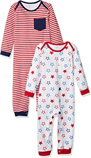 Amazon Essentials 2-Pack Coverall Mixte bébé