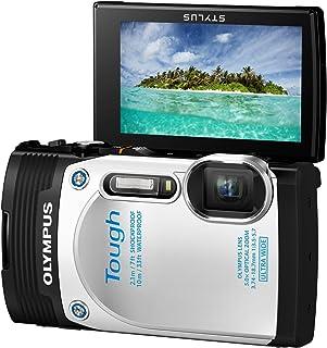 OLYMPUS デジタルカメラ STYLUS TG-850 Tough ホワイト 防水性能10m 可動式液晶モニター TG-850 Tough WHT