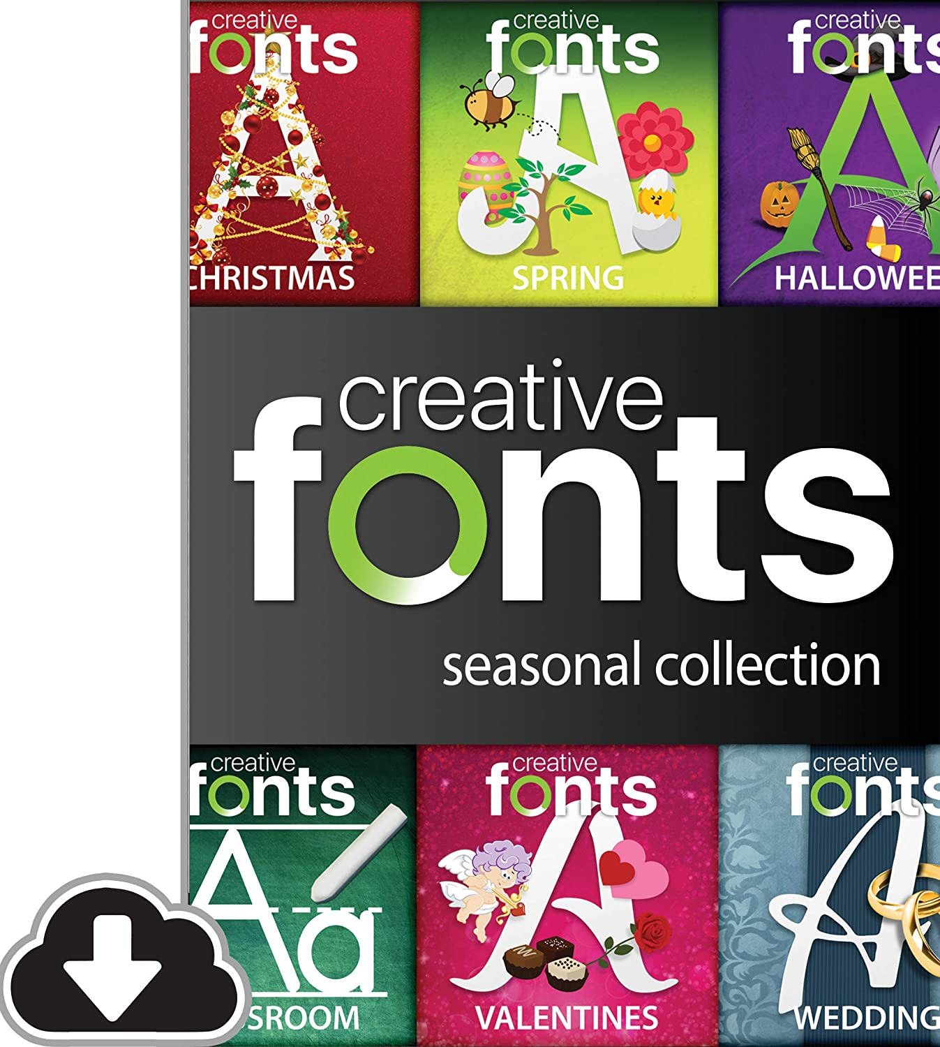 New color Cash special price Creative Fonts Seasonal Collection Download PC